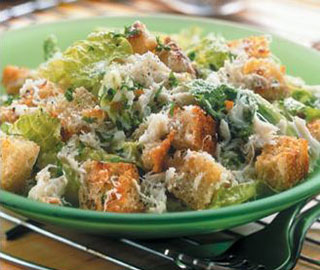 crab ceasar salad recipe image