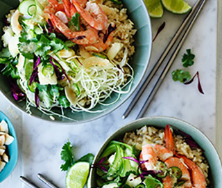 how to cook rice for poke bowl