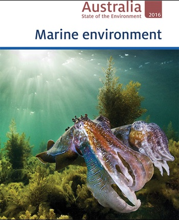 Image of the cover of the Australia State of the Environment 2016 report