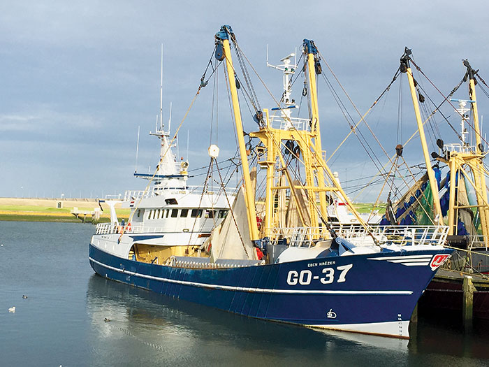 Photo of electric pulse trawler