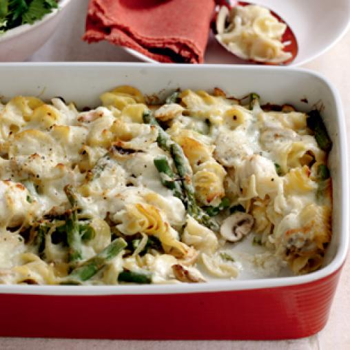 Image of fish and pasta gratin